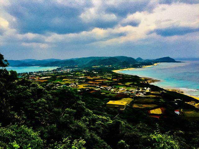 奄美大島 観光スポット 2つの海が見える場所