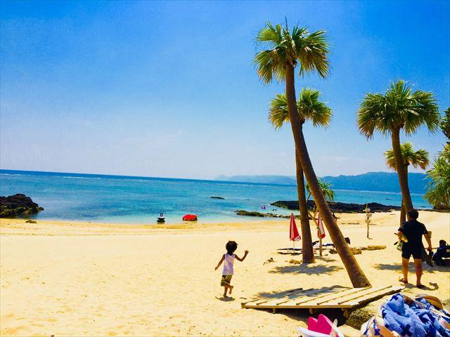 奄美大島 観光スポット ばしゃ山海水浴場
