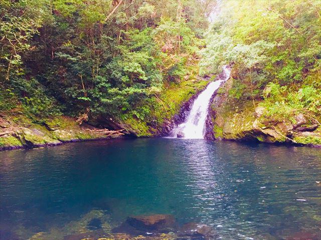 奄美大島 観光スポット マテリヤの滝