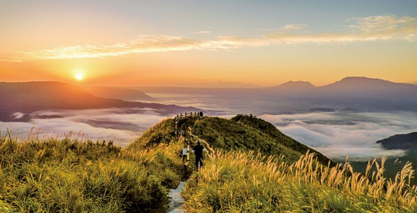 阿蘇山の北へ南へ。大自然を満喫する観光コース