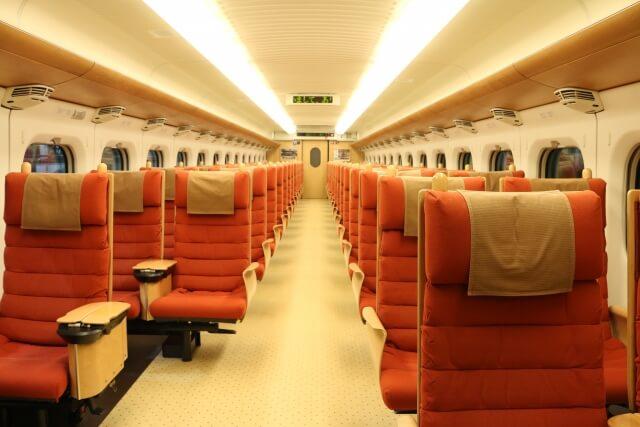 九州新幹線 車内 イメージ