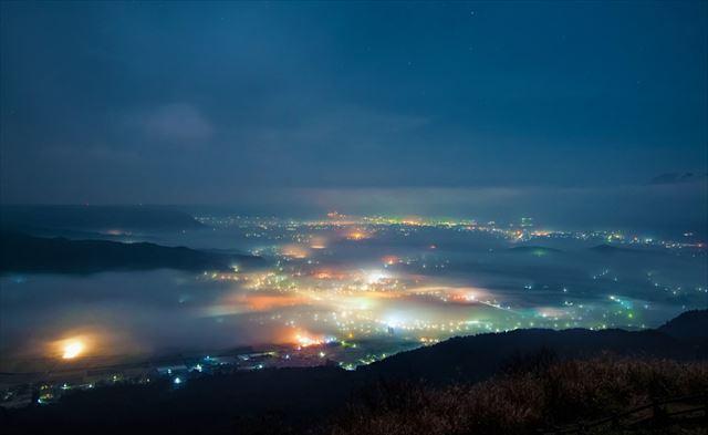 大観峰 夜景
