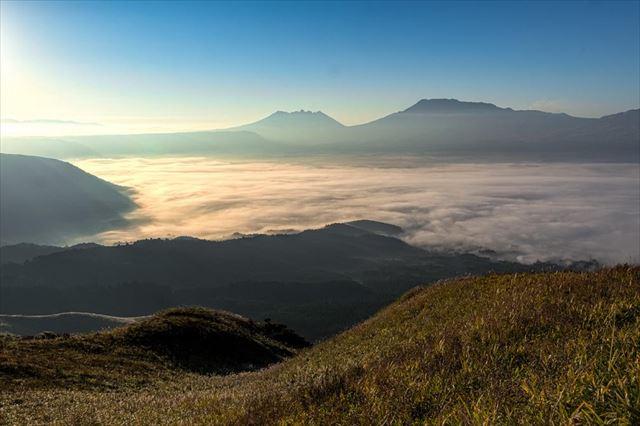 大観峰 雲海