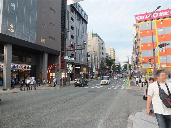 中洲の繁華街