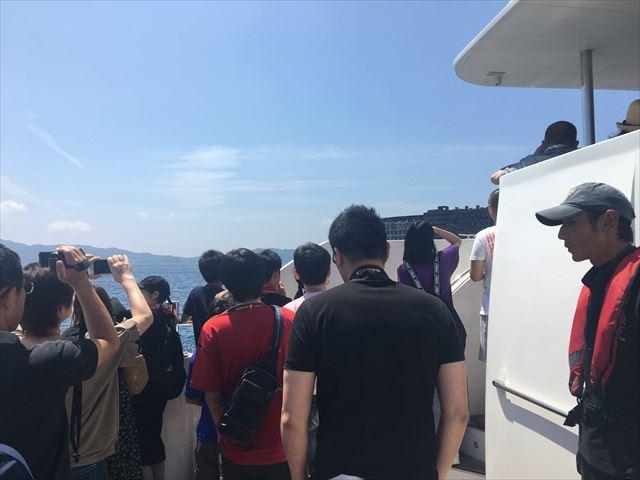 軍艦島コンシェルジュ 撮影タイム