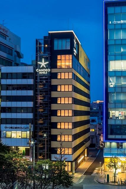 CANDEO HOTELS福岡天神 カンデオホテルズ 外観