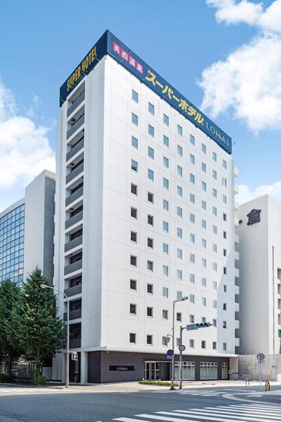 スーパーホテルLohas博多駅・筑紫口天然温泉 外観