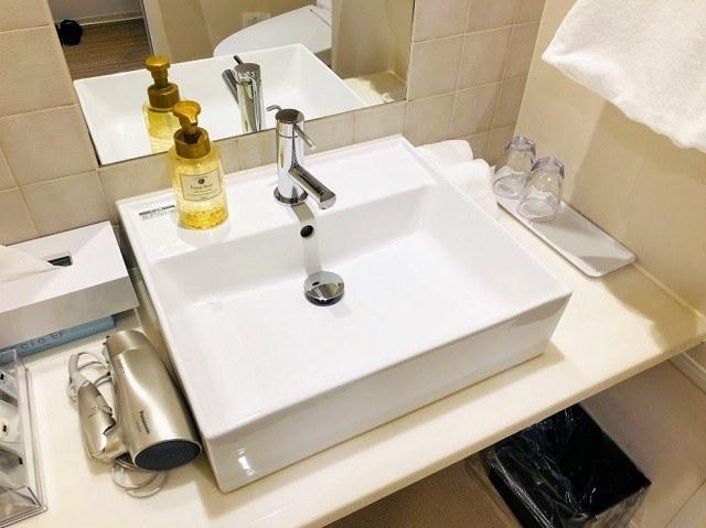 変なホテル スーペリアツイン 洗面台