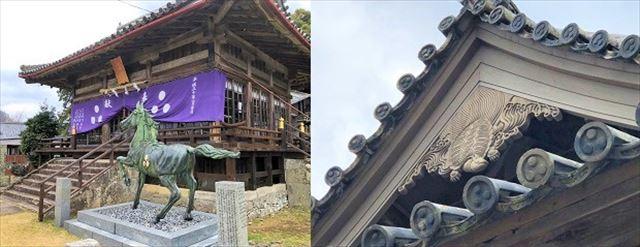 平戸観光スポット 亀岡神社