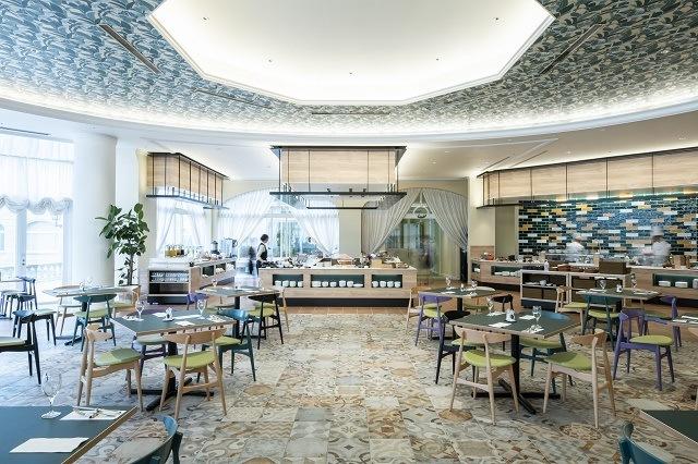 ホテル日航ハウステンボス レストラン ラヴァンドル