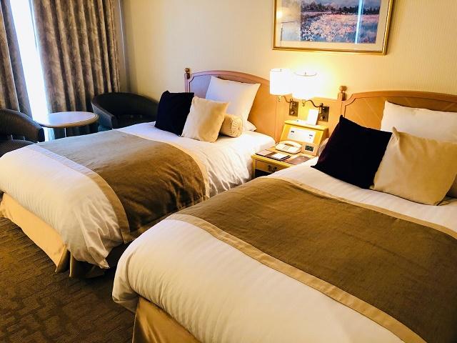 ホテルオークラJRハウステンボス スーペリアパークビューツイン ベッド