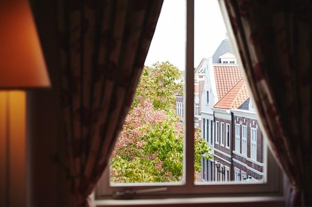ホテルアムステルダム 客室から見える園内