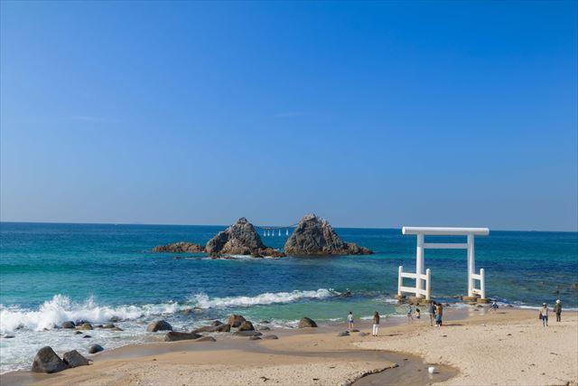 糸島 インスタ映え 夫婦岩