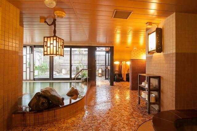 天然温泉 霧桜の湯 ドーミーイン鹿児島 大浴場