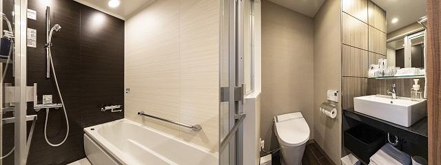 ソラリア西鉄ホテル鹿児島 浴室