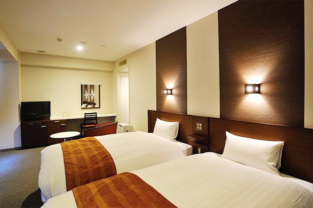 ホテルアービック鹿児島 客室