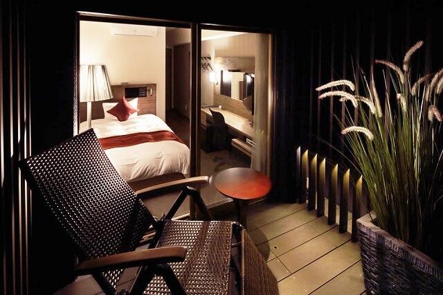 ホテルゲートイン鹿児島 客室 テラス