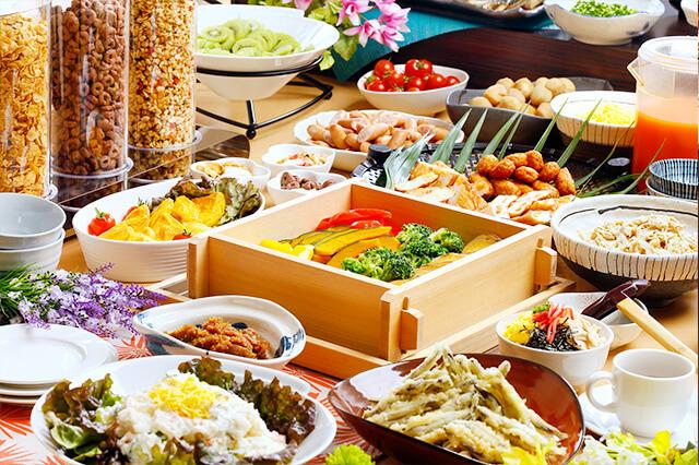 ホテルアービック鹿児島 朝食イメージ