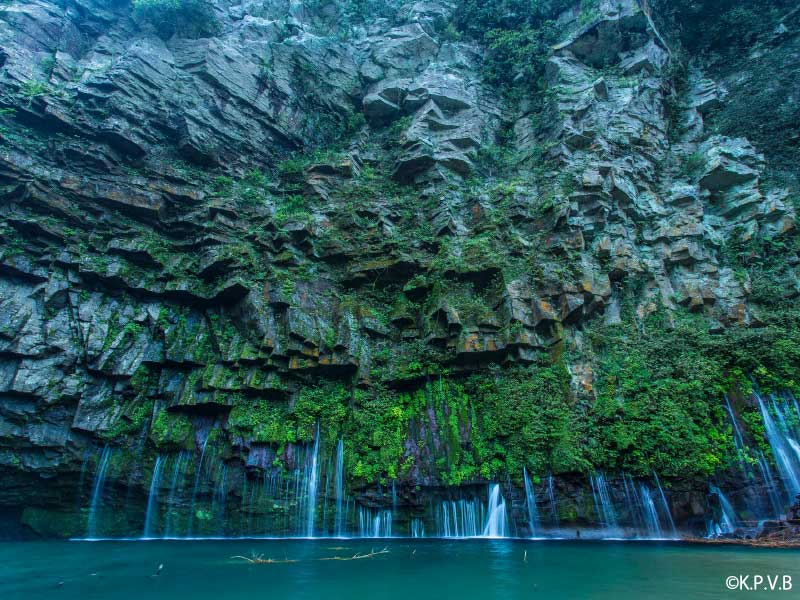 鹿児島 観光スポット 雄川の滝