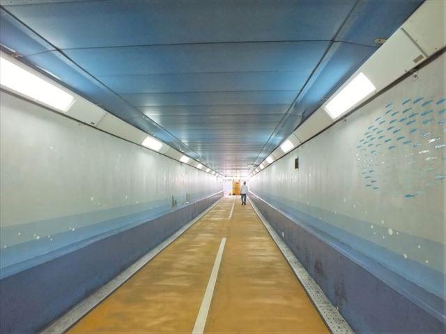 関門トンネル人道 下関