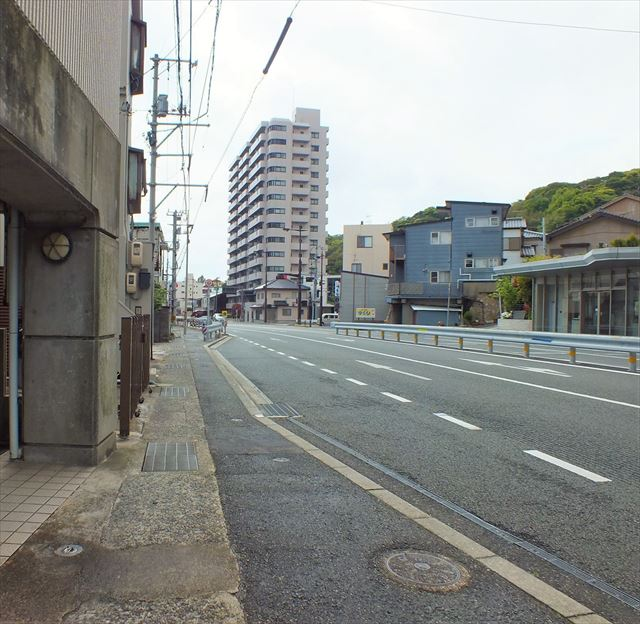 関門トンネル人道から唐戸市場 徒歩20分