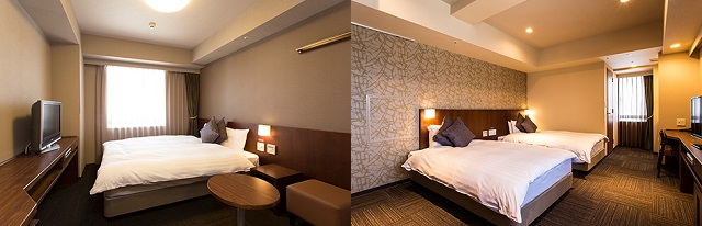 熊本 おすすめホテル 天然温泉六花の湯ドーミーイン熊本 客室