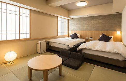 熊本 おすすめホテル 天然温泉六花の湯ドーミーイン熊本 和洋室