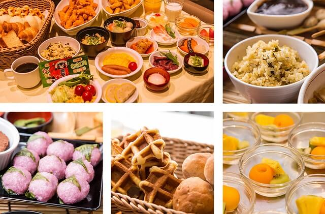 熊本 おすすめホテル 天然温泉六花の湯ドーミーイン熊本 朝食