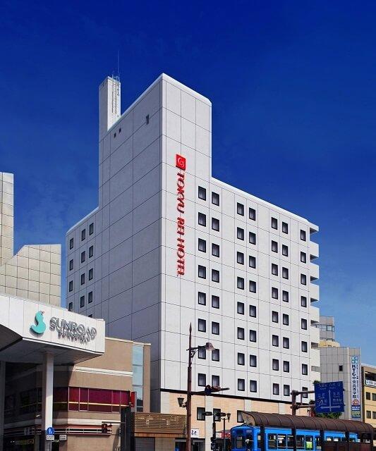 熊本 おすすめホテル 東急REI 外観