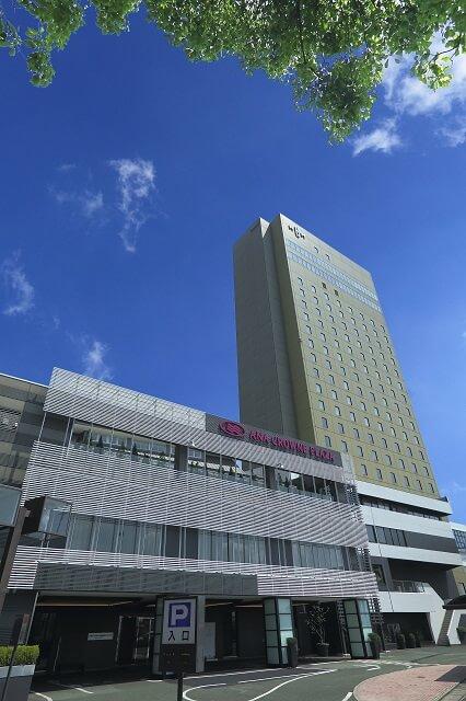 熊本 おすすめホテル ANAクラウンプラザホテル熊本ニュースカイ 外観