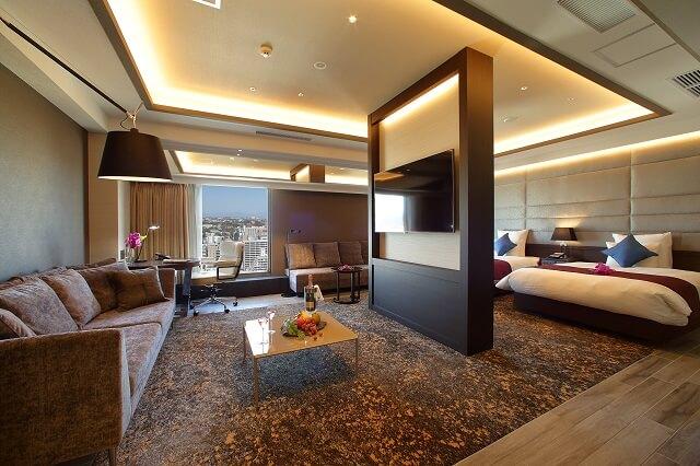 熊本 おすすめホテル ANAクラウンプラザホテル熊本ニュースカイ 客室
