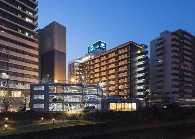 熊本 おすすめホテル ホテルルートイン熊本駅前 外観