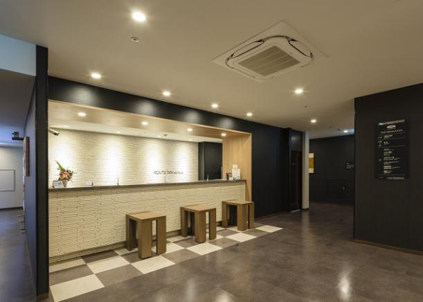 熊本 おすすめホテル ホテルルートイン熊本駅前 ロビー