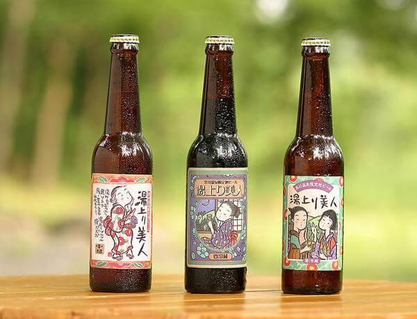 黒川温泉 ビール 湯あがり美人
