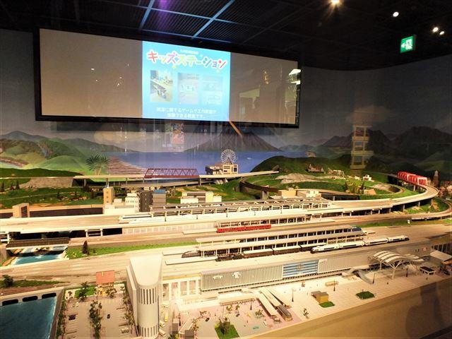 九州鉄道記念館 ジオラマ