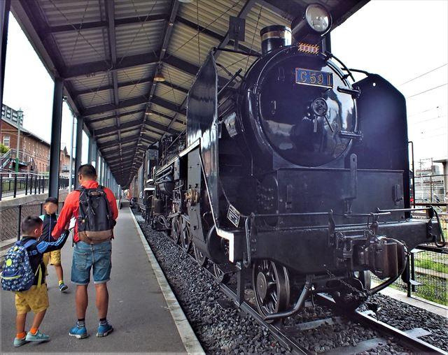 九州鉄道記念館 蒸気機関車 9600型