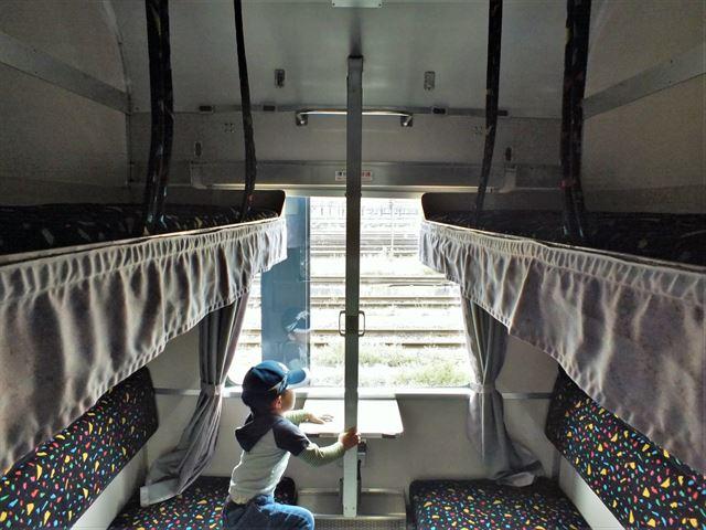 九州鉄道記念館 寝台列車 車内