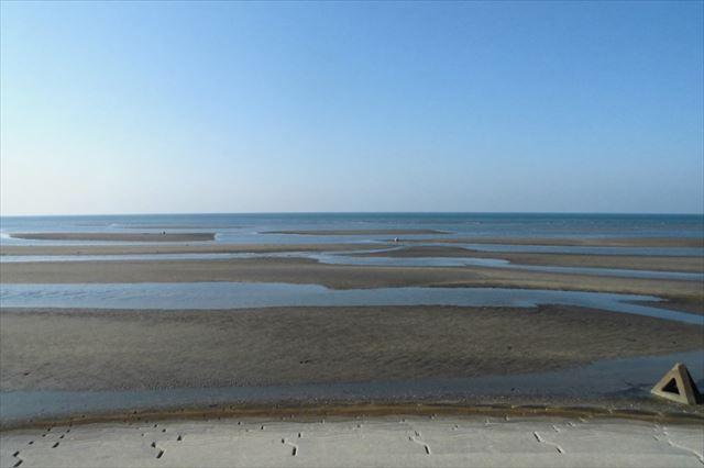 真玉海岸|大分県でただひとつ干潟に沈む絶景の夕日