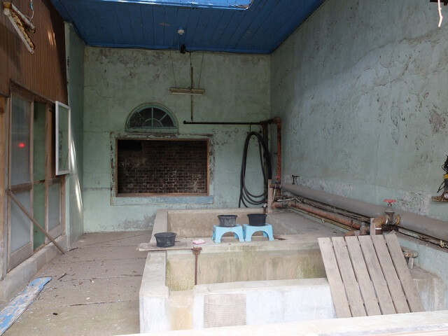 九州 世界遺産 万田坑 浴室