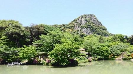 御船山楽園 夏 池