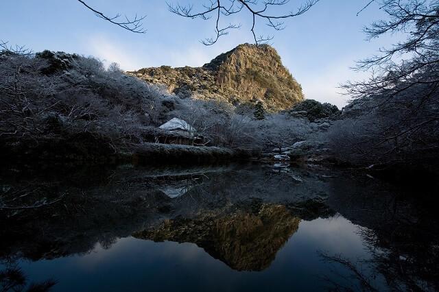 御船山楽園 冬 積雪