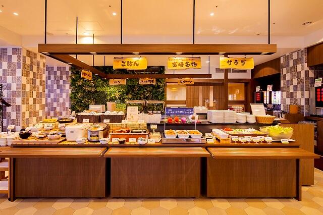 リッチモンドホテル宮崎駅前 朝食