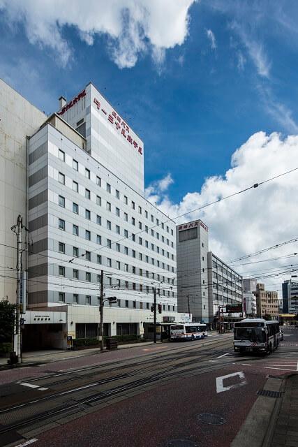 長崎バスターミナルホテル 外観