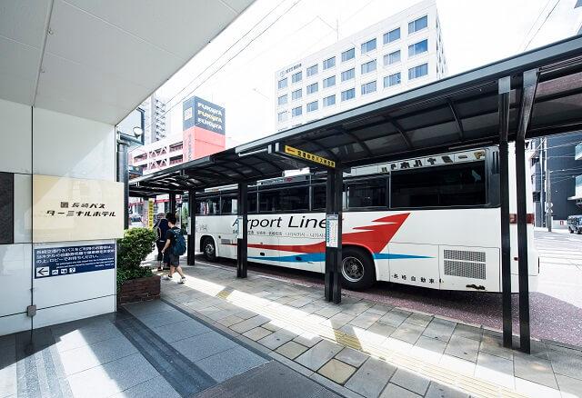 長崎バスターミナルホテル バス停