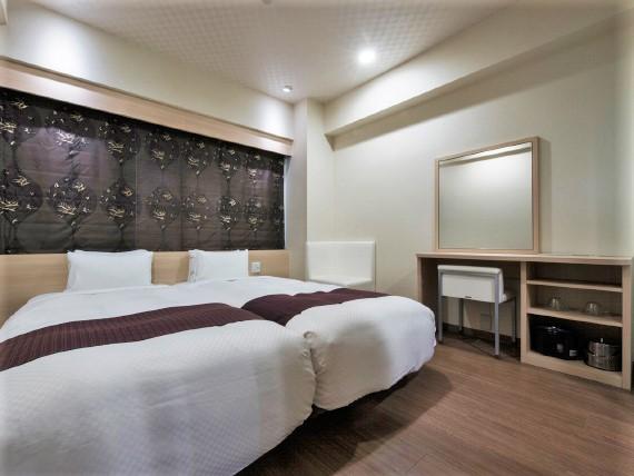 長崎バスターミナルホテル 客室 スーペリアツイン