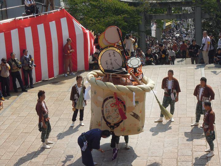 長崎くんち 傘鉾