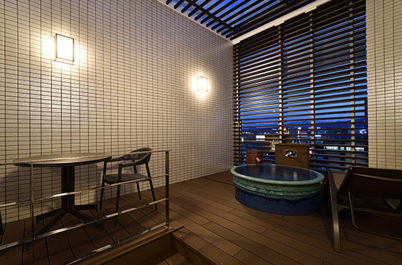 中洲 天神 おすすめ ホテル ホテルWBF福岡中洲 客室 露天風呂