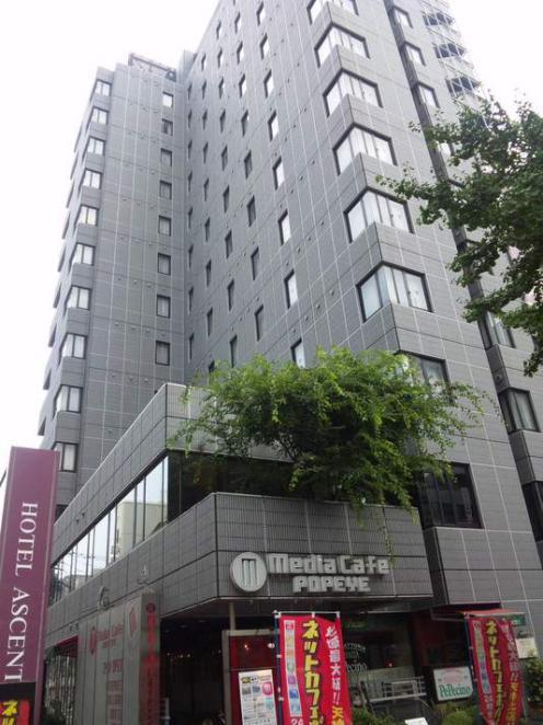中洲 天神 おすすめ ホテル ホテル アセント福岡 外観