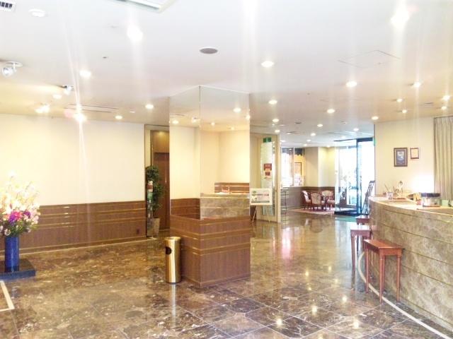 中洲 天神 おすすめ ホテル ホテル アセント福岡 ロビー