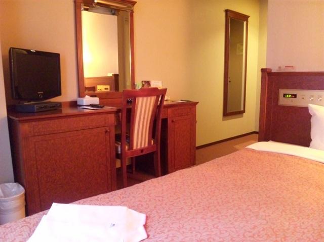 中洲 天神 おすすめ ホテル ホテル アセント福岡 客室